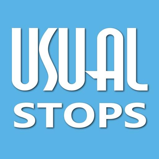 Usual Stops iOS App