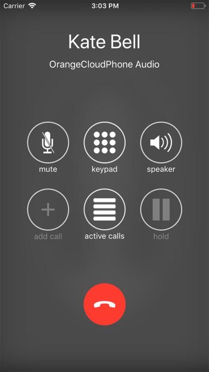 Orange Cloud Phone screenshot-3
