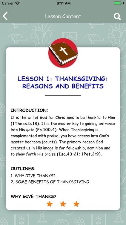 RCCG - Sunday School Manual screenshot-4