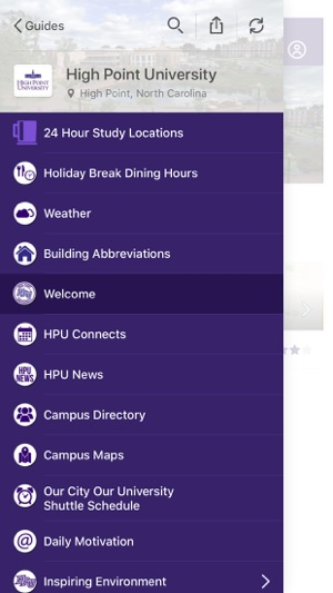 High Point University Guides On The App Store