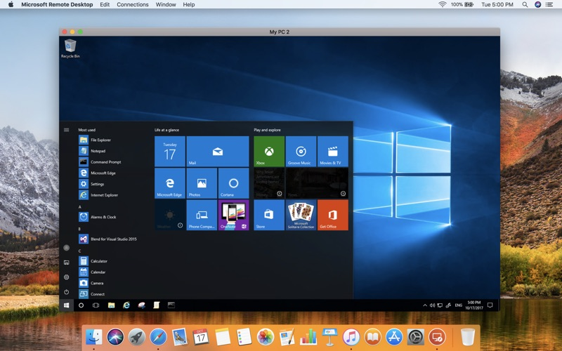 Microsoft Remote Desktop for Mac