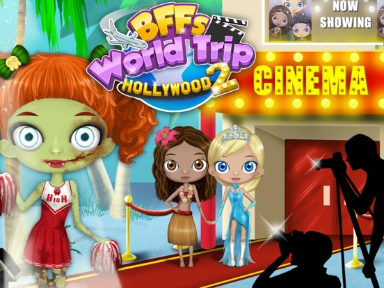 BFF World Trip Hollywood 2 - No Ads screenshot 6