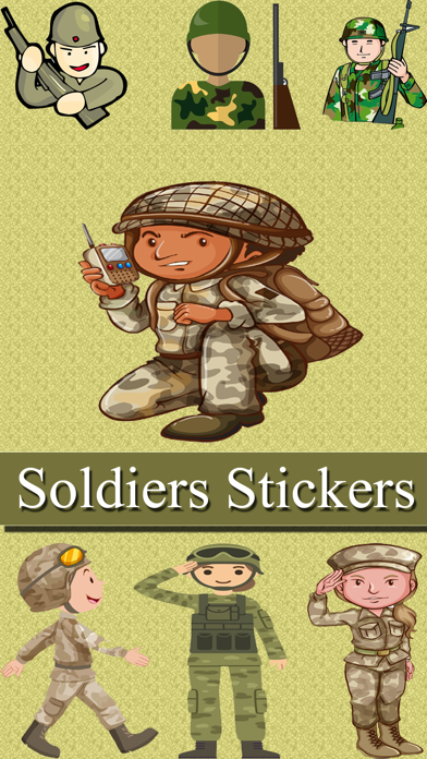 Army Soldiers Emojis | App Price Drops