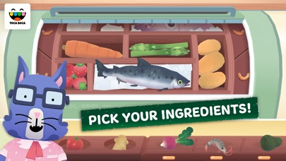 Toca Kitchen Sushi Screenshot
