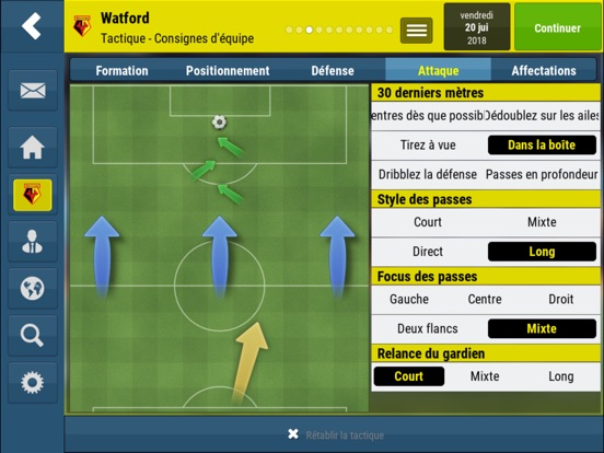 Screenshot #6 pour Football Manager Mobile 2018
