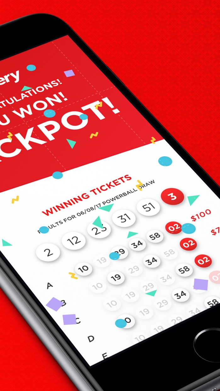 Lottery.com Play the Powerball Screenshot