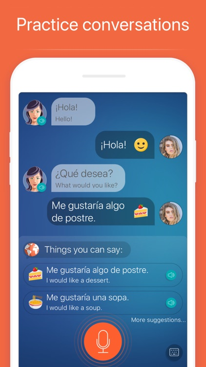 Mondly: Learn 33 Languages screenshot-3