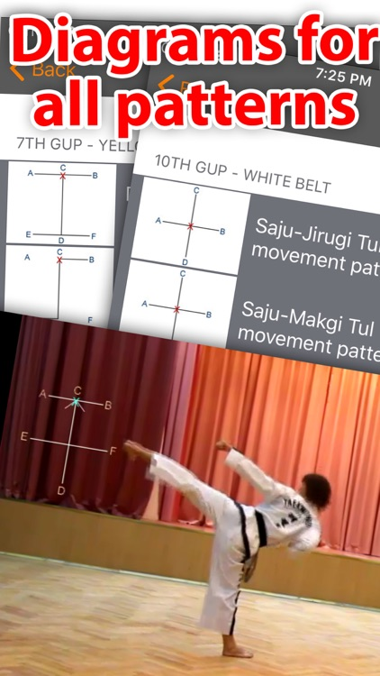 Taekwon-do ITF Patterns screenshot-3
