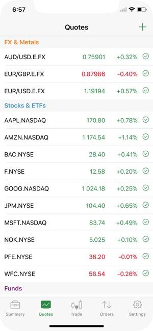 EXANTE Trading」をApp Storeで