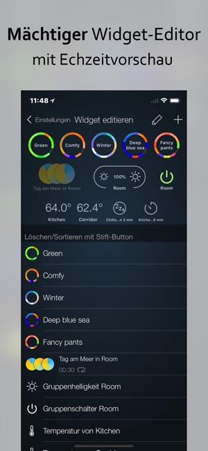 iConnectHue für Philips Hue Screenshot
