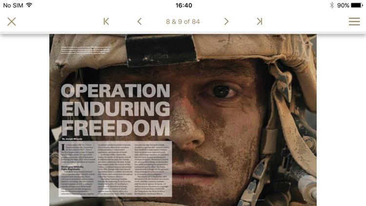 Modern War Magazine screenshot-3
