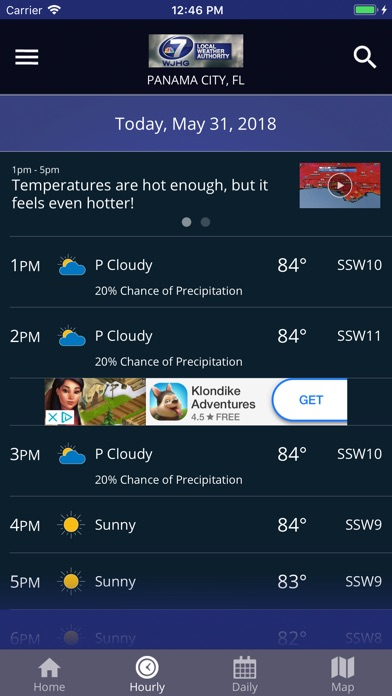 WJHG Weather for Windows