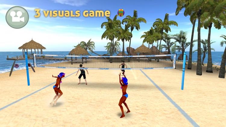 Beach Volleyball OverTheNet screenshot-0