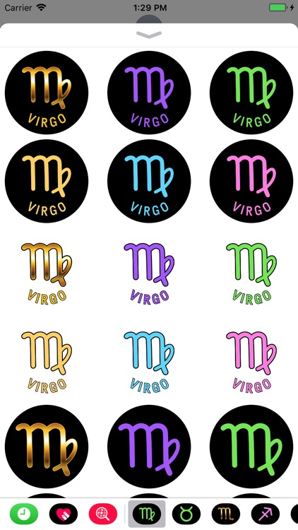 VIRGO Stickers