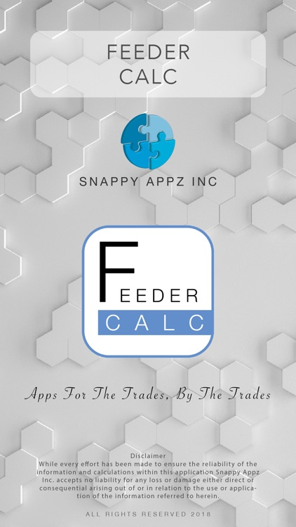 Feeder Calculator