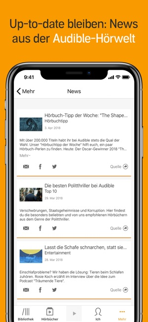 Audible   Hörbücher U0026 Podcasts Im App Store
