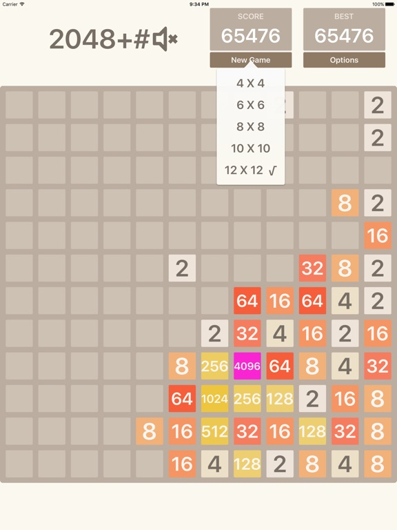 2048+# - Math puzzle game для iPad