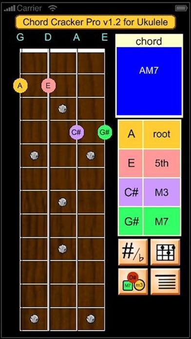 Ukulele Chord Cracker Pro screenshot one