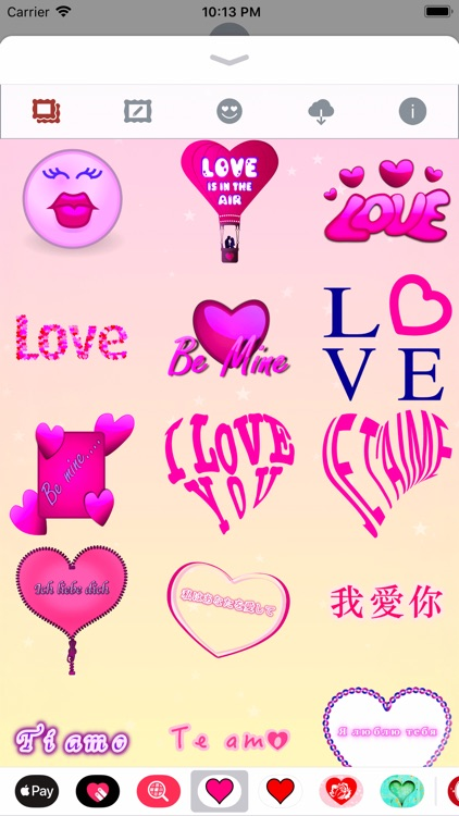 Pink Love • Emoji and stickers screenshot-4