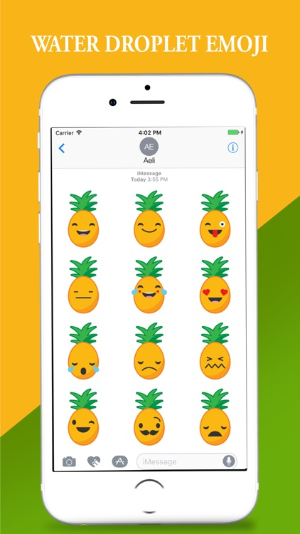 Hawaii Pineapple Stickers Pack