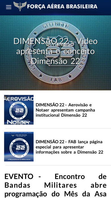 Download FAB (FORÇA AÉREA BRASILEIRA) for Android