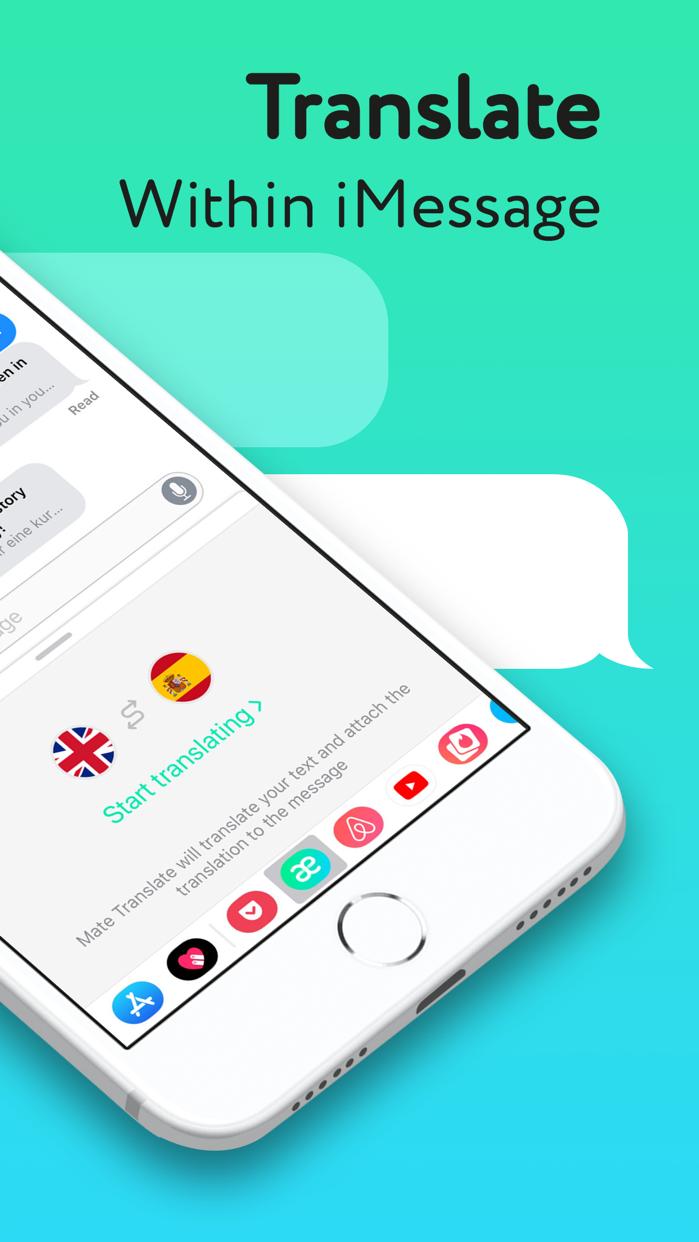 Mate – Real-Time Translator Screenshot