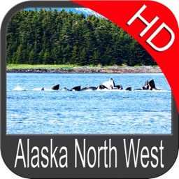 Alaska North West HD - GPS Map Navigator