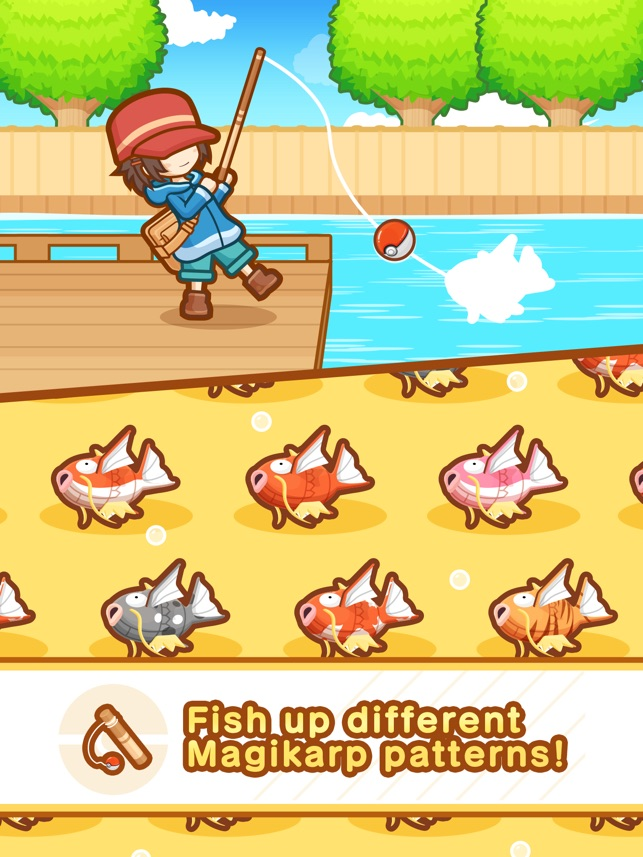 c014bf1b  Pokémon: Magikarp Jump on the App Store