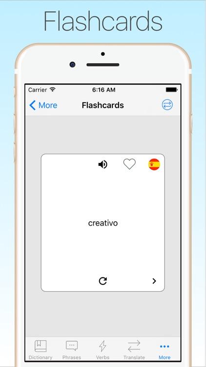 Spanish Dictionary & Translator + screenshot-4