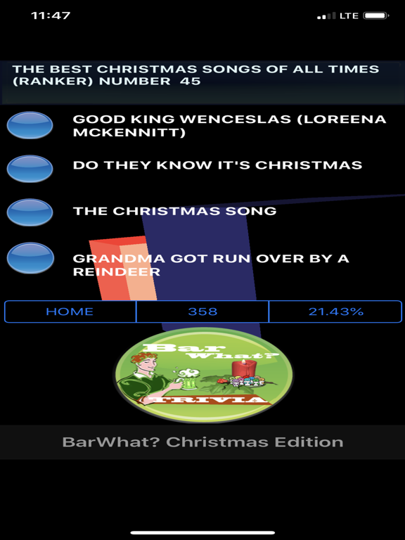 BarWhat? Christmas 10K+ Trivia screenshot 18