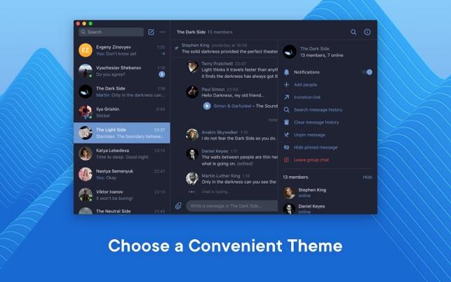 VK Messenger on the Mac App Store