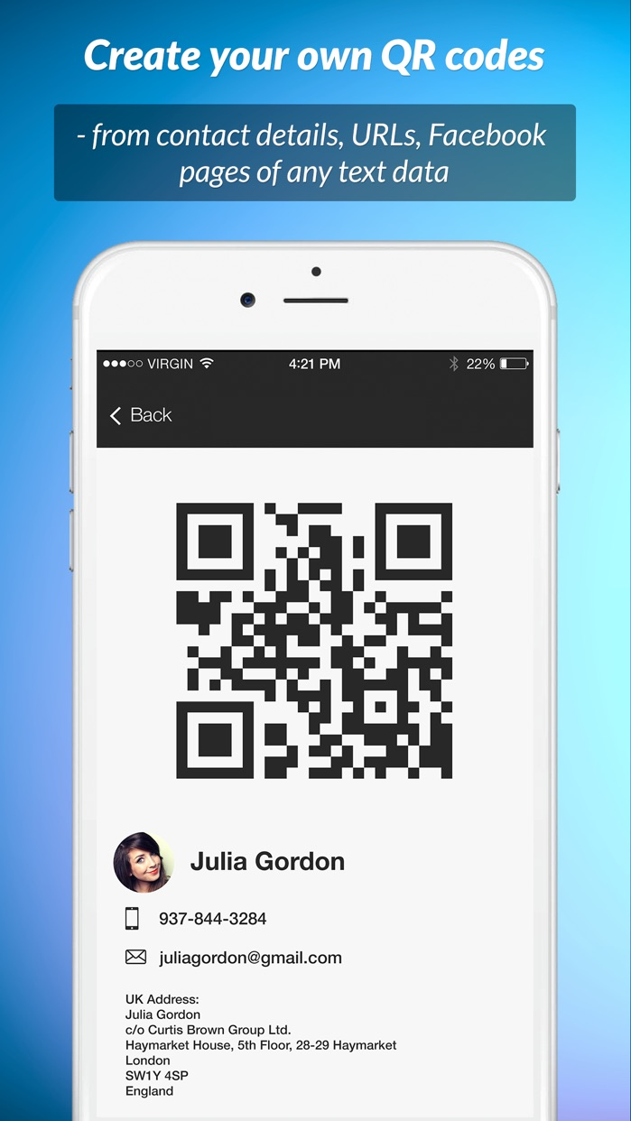 QR Scanner: instant reading Screenshot