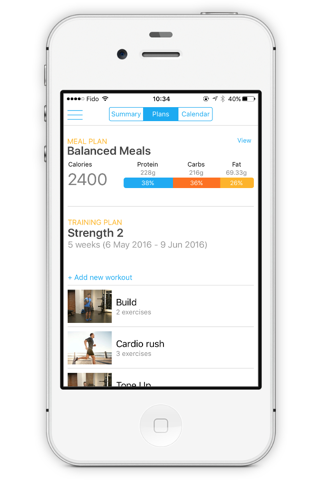 Peak Fitness App screenshot 3