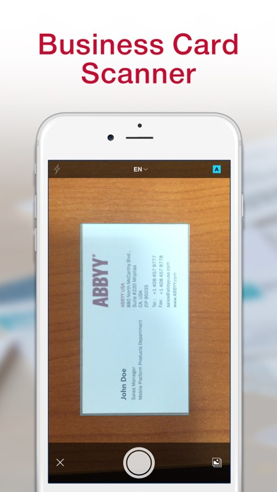 business card reader app review