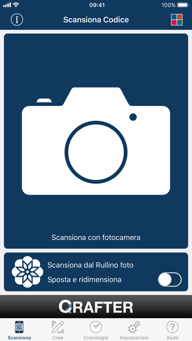 Screenshot for Qrafter Pro - Codice QR in Italy App Store