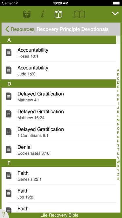 Life Recovery Bible screenshot-4