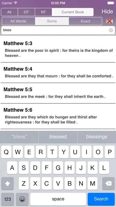 Touch Bible (Lite) screenshot four