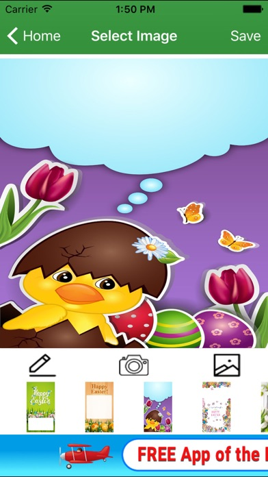Screenshot 5 For New Easter Greeting Card Maker