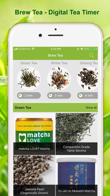 Brew Tea - Digital Tea Timer screenshot-0