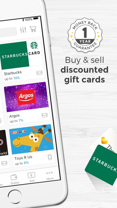 Zeek: Buy & Sell Gift Cards screenshot two