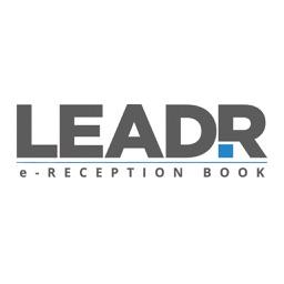 e-Reception book by LEADR