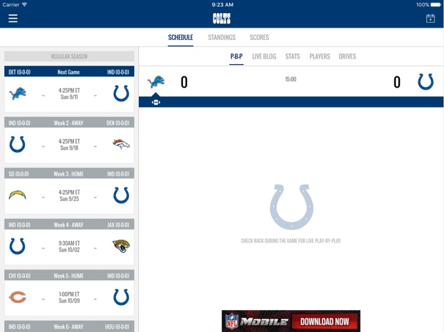 Indianapolis Colts On The App Store