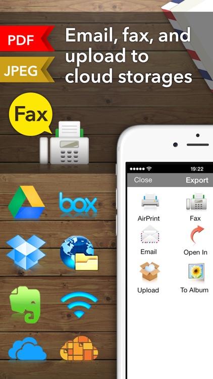 Scanner App - Scan Doc Fax PDF screenshot-4
