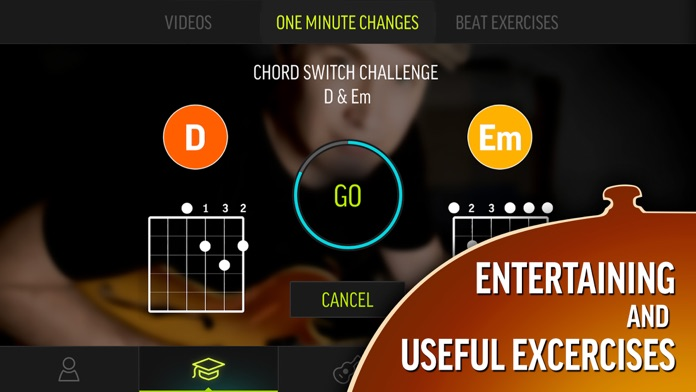 Justin Guitar Beginner Course Screenshot