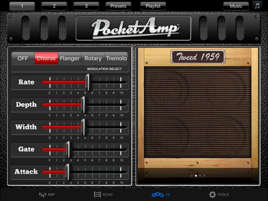 PocketAmp - Guitar Amp Effects-ipad-2