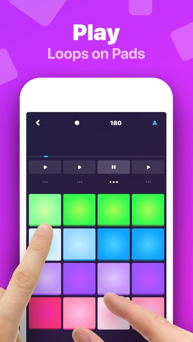 Hip-Hop Beat Maker: Make Beats screenshot 1