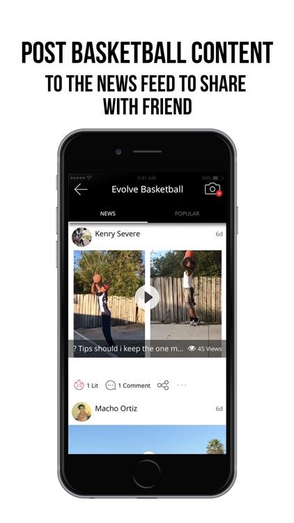Evolve Basketball screenshot-3