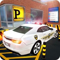 Police Car Parking Sim 2018
