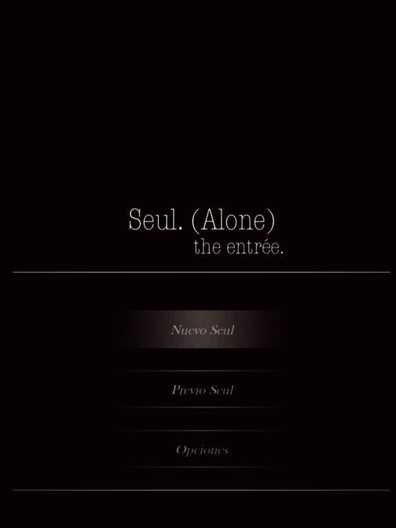 Seul.(Alone) The entrée - CYOA screenshot 6