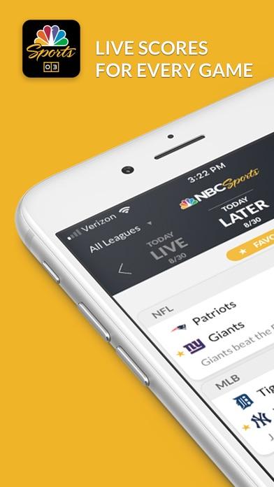 NBC Sports Scores for Windows